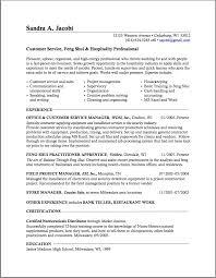 Example Skills Based Cv Resume For Study