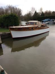 appleyard lincoln centre wheelhouse used for motorboat ancient atypical cotre in uk cambridgeshire marina ferry stretham united kingdom