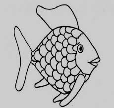 Coloring Pages Of A Rainbow Kids Printable Rainbow Fish Coloring