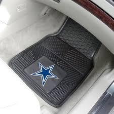 dallas cowboys 2pc vinyl floor mats 18 x 27