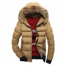 2017 <b>Winter</b> Jacket Parka Men Cotton Padded <b>Winter</b> Parka Down ...