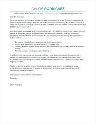 Cover Letter Examples Office Manager Executive Cover Letter