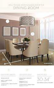 chandelier size for dining room correct height measurements to size a dining room chandelier determine size