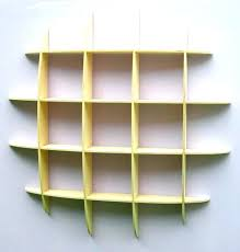 wall hung bookcase decoration awesome design of the wall mounted bookcase with yellow wooden materials added