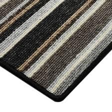 striped runner rugs woven border