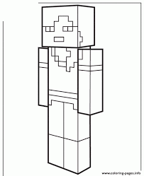 20 Minecraft Alex Coloring Pages Soward Ideas And Designs