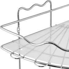 <b>Полка</b> для <b>ванной</b> комнаты Swensa угловая двухъярусная хром в ...