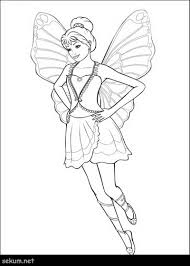 Barbie Fairy Coloring Pages Free Barbie Mariposa Coloring Picture
