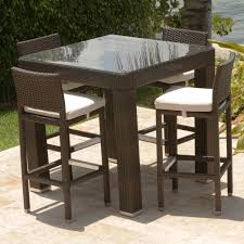 bar height patio dining sets patio design ideas intended for bar height patio set the attractive high dining sets