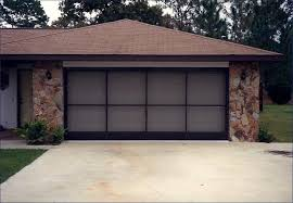 roll up garage door screenGarage Door Screen Panels Florida Style  John Robinson House