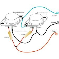 understanding 2n3055 transistor spec sheet paralleling 2n3055 transistors