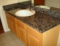 painting laminate countertops to look like black granite