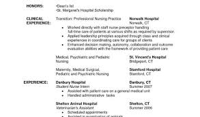 Sample Resume For Registered Nurse With Entry Level Rn Resume