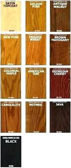 Gel Stain Color Chart Varathane Stain Colors Entremelodias Co
