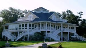 image of large country style house plans with wrap around porches