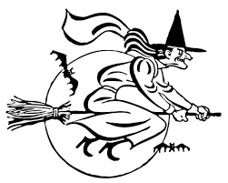 Small Picture 271 best Witch coloring images on Pinterest Coloring books