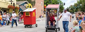 16th Annual Abe Martin's County Picnic and NashCar Outhouse Race - Brown  County, Indiana