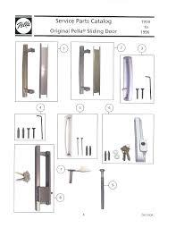 pella sliding door repair sliding door handle repair designs pella sliding door repair sliding screen