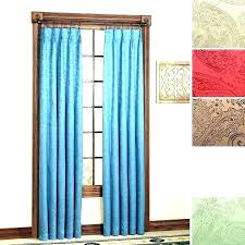 sliding glass door curtains and ds grommet window treatments