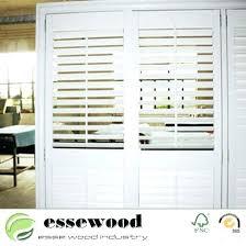 plantation shutters for sliding glass doors cost cost of window treatments window treatments plantation shutter for