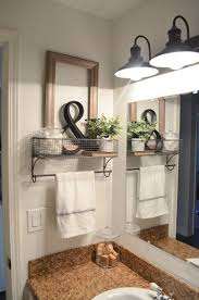 bathroom decor. Beautiful Bathroom Farmhouse Bathroom Organization Decor Towel Rack And Bathroom Decor A