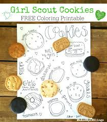 girl scout cookie coloring pages. Interesting Pages Printable Girl Scout Cookie Coloring Pages Cookies  Beautiful Ideas Throughout Girl Scout Cookie Coloring Pages O