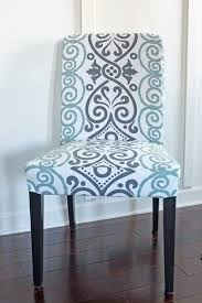 dining chair slipcover from tablecloth