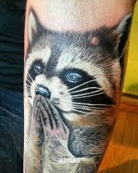 енот значение татуировок в дзержинске Rustattooru
