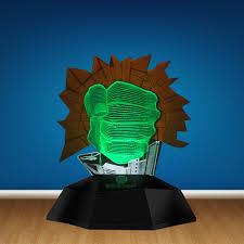 Hulk Smash Hand Led Decor Light Gamma Grip Fist 3d Optical Illusion