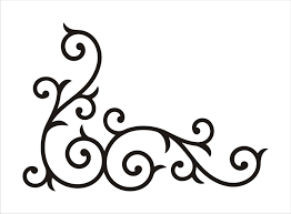 Simple Border Designs For Project Swirls And Hearts 1647 Swirls Free Clipart 2