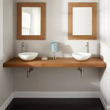 Used Bathroom Sinks 73 Teak Wall Mount Vanity Top For Vessel Sinks Bathroom