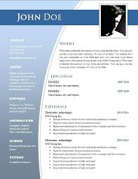 Resume Templates In Word Gorgeous Fancy Resume Templates Word Commily