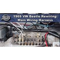 1968 69 beetle wiring harness installation part 1 vw parts 1968 69 beetle wiring harness installation part 1 vw parts jbugs com