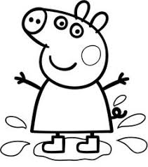 8614fa520ee9e1c64a2f787a9cae4ddc peppa pig drawing peppa pig birthday cake your child can cut out and colour in this peppa pig face mask on happy face mask template