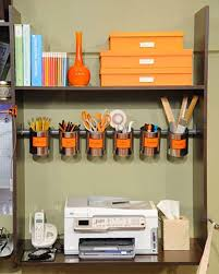 office diy ideas. Perfect Diy Cleverofficeorganisation19 With Office Diy Ideas E