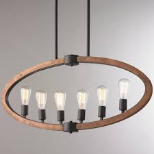 natural wood chandelier natural wood oval island chandelier ideas
