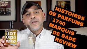 <b>Histoires De Parfums</b> 1740 Marquis De Sade Review (Sexy Leather ...
