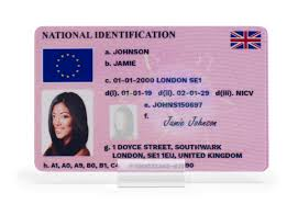 National Card Type 3 Id