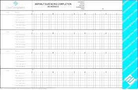 Construction Project Schedule Template Excel Construction Materials Schedule Template