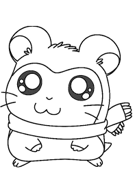 Small Picture A Cute Sandy The Hamster Coloring Pages Cute Hamster Coloring
