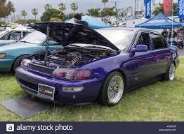 Long Beach, USA - May 6 2017: Toyota Corolla 1994 on display ...