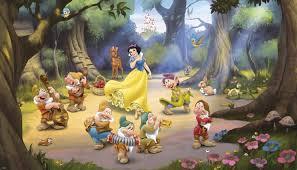 snow white and the seven dwarfs xl wallpaper mural 10 5 x 6