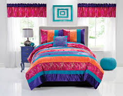 Pink And Orange Bedroom Pink And Purple Bed Sets Shaibnet