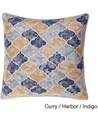 moroccan throw pillows. Moroccan Multicolor 24-inch Square Throw Pillow (Moroccan - Curry/Harbor Pillows O