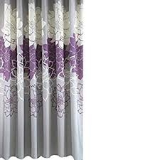 shower curtain shower environmentally friendly. Gray Background And Flowers Pattern,Mildew Proof Waterproof Washable Printed Polyester Fabric Shower Curtain Environmentally Friendly E