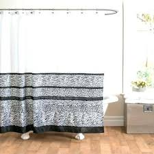 bed bath and beyond extra long shower curtain bed bath and beyond shower curtain black