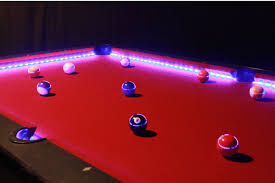 pool table lighted 4