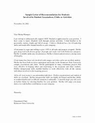 Recommendation Letter Format For Student Capriartfilmfestival