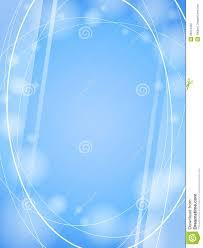 Photo Frame Light Design Blue Waves Light Design Template Frame Background Stock