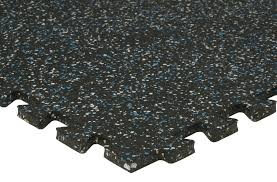 Zip Rubber Tiles - Interlocking Recycled Rubber Tile